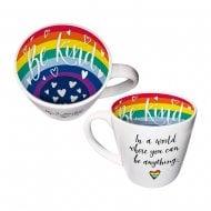 Inside Out - Be Kind Be Anything Rainbow Mug