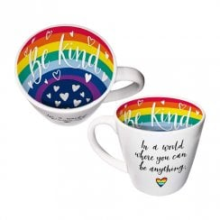 Inside Out - Be Kind Be Anything Rainbow Mug