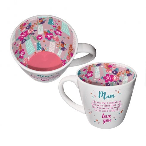 Two Up Two Down Inside Out Mug - Mum