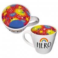 Inside Out Mug - Youre My Hero Rainbow Mug
