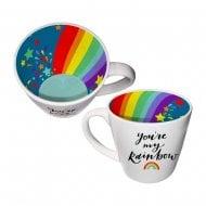 Inside Out Mug - Youre My Rainbow Ceramic Mug