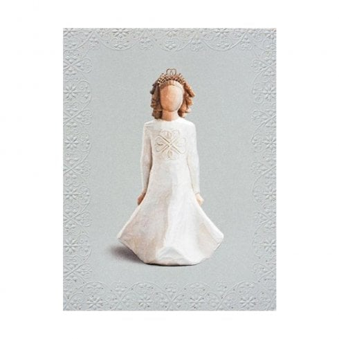 Willow Tree Irish Charm Birthday Card With Message