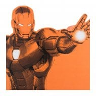Iron Man Drawing 16 x 16cm Blank Card 25480826