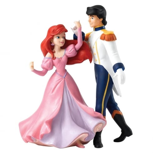 Disney Enchanting Collection Isnt She A Vision Ariel & Eric Figurine