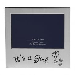 Its A Girl 5 x 3.5 Photo Frame