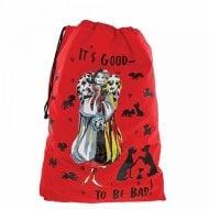 Its Good To Be Bad Cruella Christmas Sack