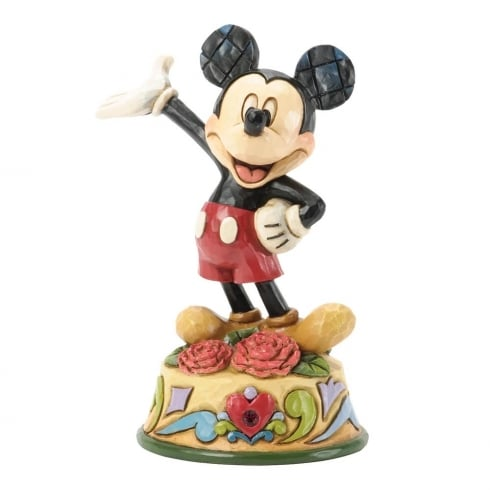 Disney Traditions January Mickey Mouse Figurine