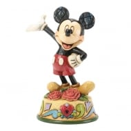 January Mickey Mouse Figurine