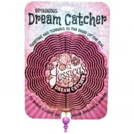 Jessica Spinning Dream Catcher