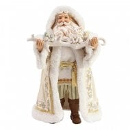 Jim Shore Winter White Santa Figurine 2019 Limited Edition