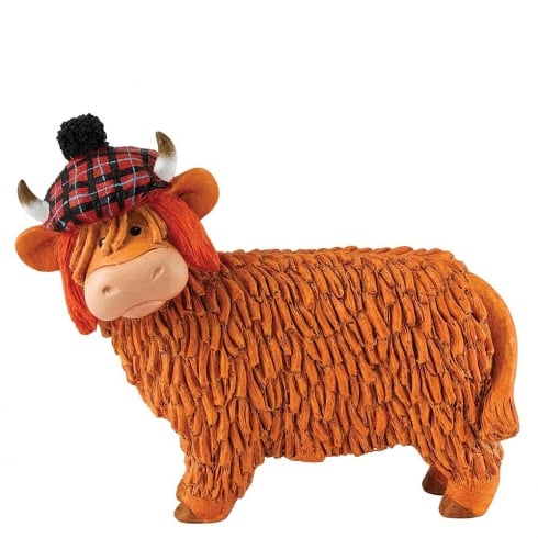Hairy Coos! Jimmy Cow Figurine