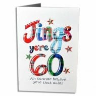 Jings Yere 60 Scottish Birthday Card