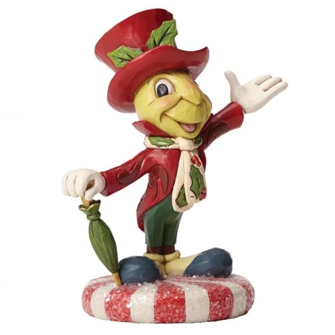 Disney Traditions Jolly Jiminy Cricket