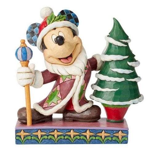 Disney Traditions Jolly Ol St Mick Mickey Mouse Figurine
