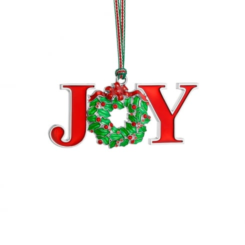 Newbridge Silverware Joy Christmas Decoration