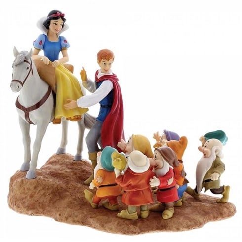 Disney Enchanting Collection Joyful Farewell Snow White Figurine