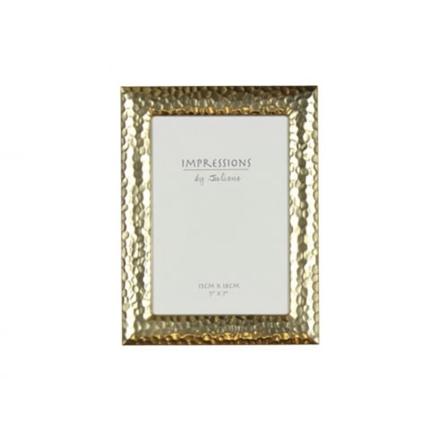 Impressions By Juliana Gold Effect Hammered Design 5 x 7 Photo Frame