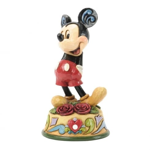 Disney Traditions June Mickey Mouse Figurine