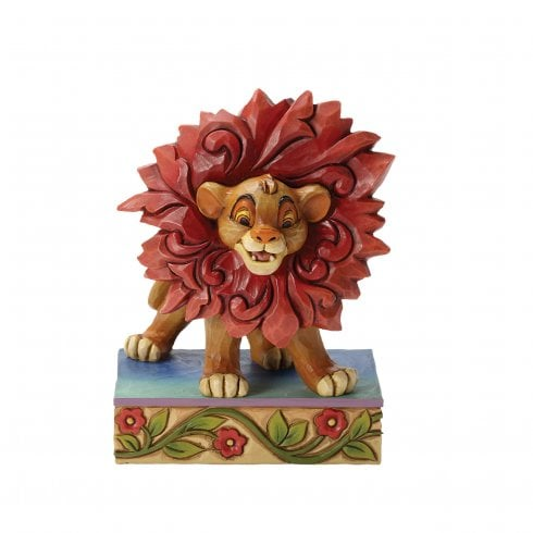 Disney Traditions Just Cant Wait To Be King Simba Figurine