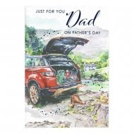 Just For You Dad On Fathers Day Card DF257