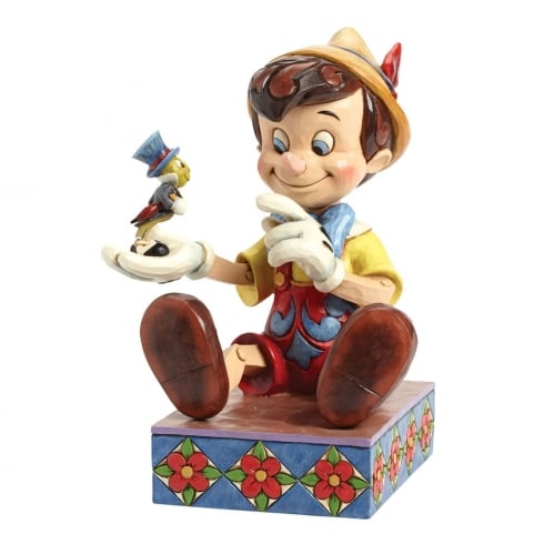 Disney Traditions Just Give A Little Whistle Pinocchio and Jiminy Cricket