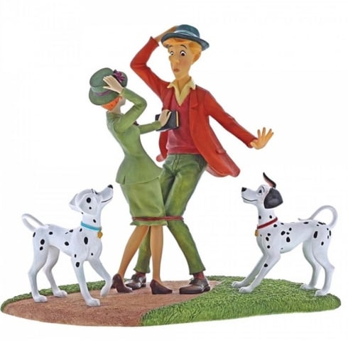 Disney Enchanting Collection Just Had To Meet - 101 Dalmatians Figurine
