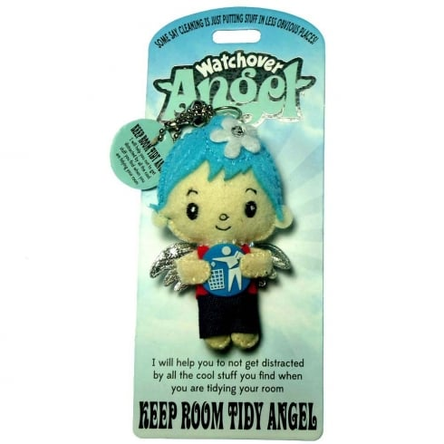 Watchover Angels Keep Room Tidy Angel Keyring