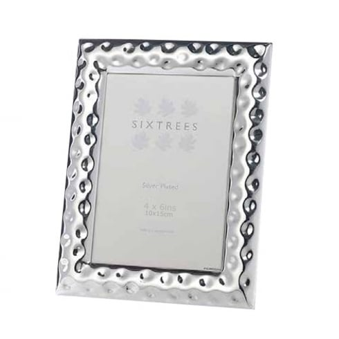 Sixtrees Keyes - Silver Plated Photo Frame 4 x 6
