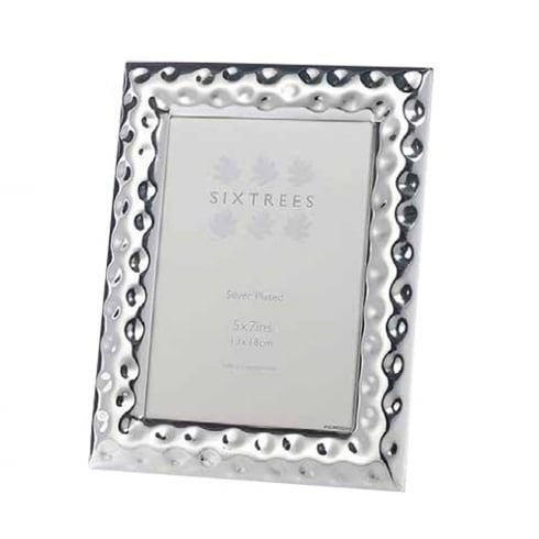 Sixtrees Keyes - Silver Plated Photo Frame 5 x 7