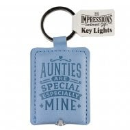 Keyring - Auntie Key Light