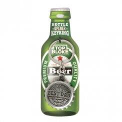 Bottle Opener Keyring Best Dad 00208020002 History /& Heraldry Top Bloke