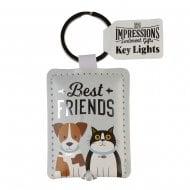 Keyring - Best Friends Key Light