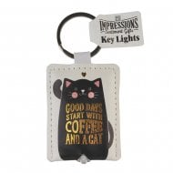 Keyring - Coffee Key Light