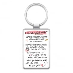 Keyring - I Love You Mum