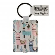 Keyring - Llamas Key Light