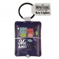 Keyring - Me and You Key Light