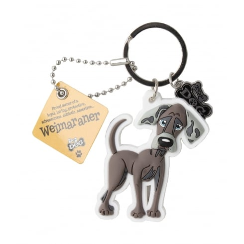 Wags & Whiskers Keyring - Weimaraner