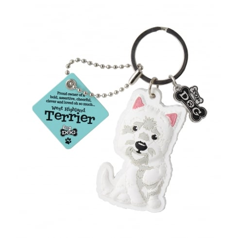 Wags & Whiskers Keyring - West Highland Terrier