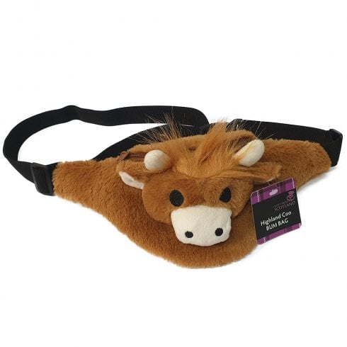 Thistle Products Ltd Kids Highland Coo Bum Bag