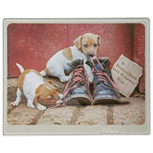Border Fine Arts Kitchy & Co Old Boots Trivet Small