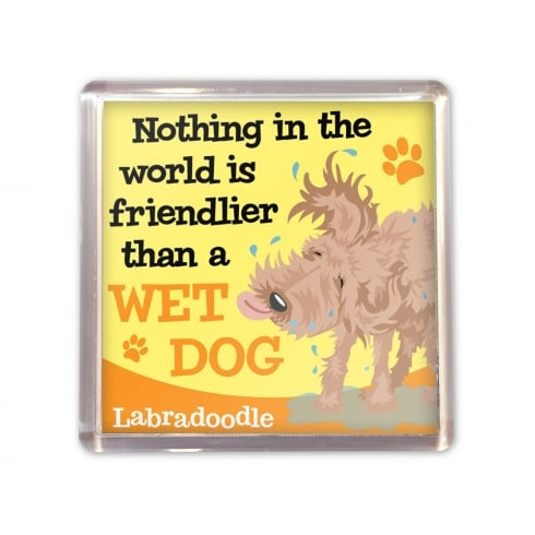 Wags & Whiskers Labradoodle Magnet
