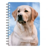 Labrador Yellow 3D Notebook