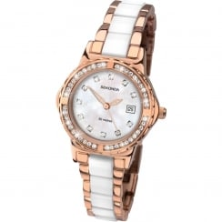 Ladies Rose Gold Plated Quartz Watch 2022.00