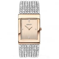 Ladies Seksy Rose Gold Plated Quartz Watch 2376.37