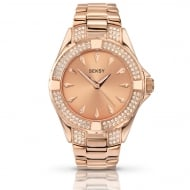 Ladies Seksy Rose Gold Plated Quartz Watch 4669.37
