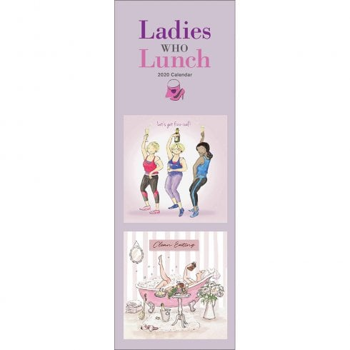 Otter House Ladies Who Lunch 2020 Slim Calendar