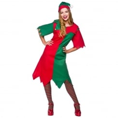 Lady Elf Costume One Size