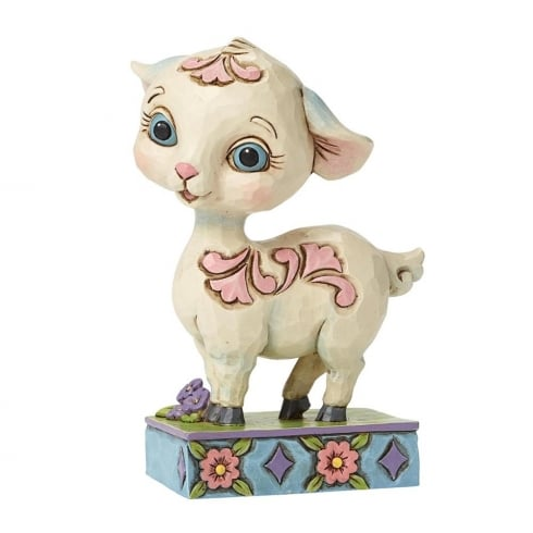 Jim Shore Heartwood Creek Lamb Mini Easter Figurine