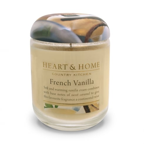 Heart & Home Large Candle Jar French Vanilla