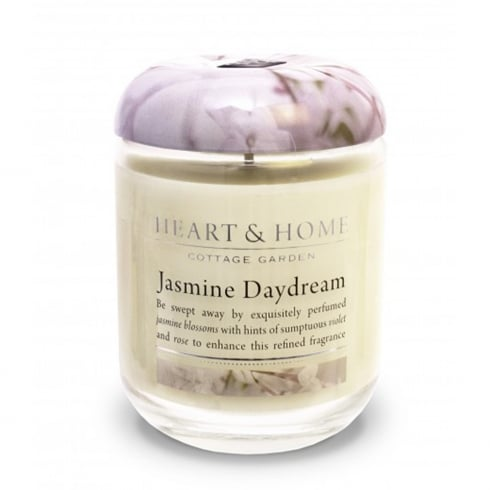 Heart & Home Large Candle Jar Jasmine Daydream